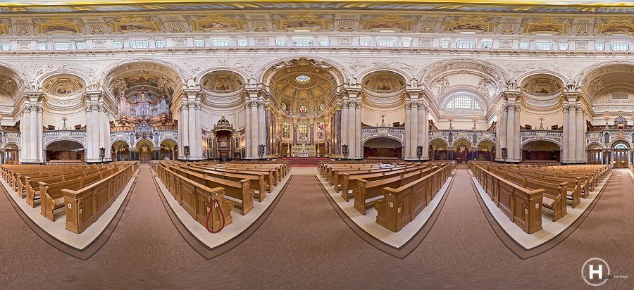 360 Panorama Berliner Dom Religion 3d Top Event